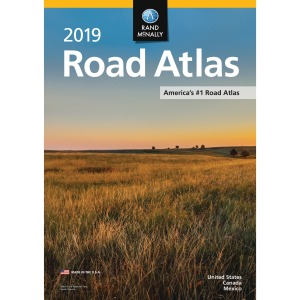 Advantus Rand McNally North American Road Atlas Reference Printed Book