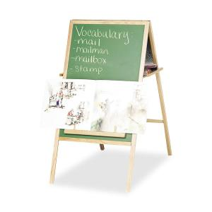 MooreCo Teacher's Magnetic Instructional Easel