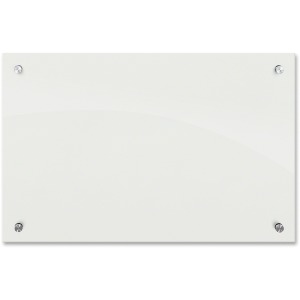 MooreCo Frosted Pearl Glass Dry Erase Markerboard