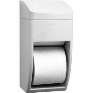Bobrick Washroom 2-roll Plastic Bath Tissue Dispenser