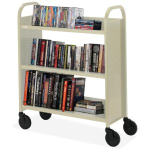 Bretford Basics Voyager Single-Sided Premium Book Truck