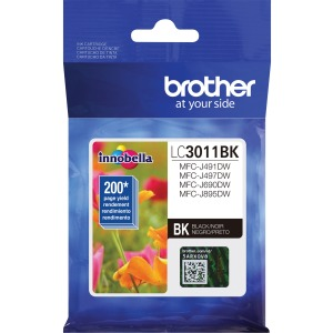 Brother LC3011BK Ink Cartridge - Black
