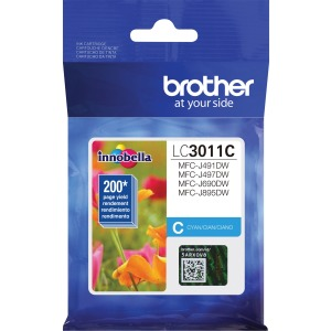 Brother LC3011C Ink Cartridge - Cyan