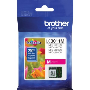 Brother LC3011M Ink Cartridge - Magenta