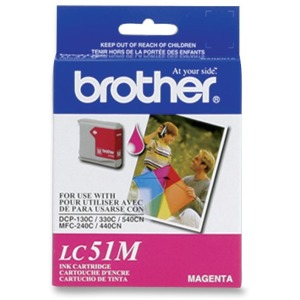 Smartchoice IJ51M Remanufactured Ink Cartridge - Alternative for Brother (LC51M)