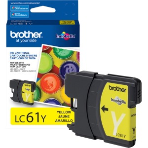 Smartchoice IJ61Y Remanufactured Ink Cartridge - Alternative for Brother (LC61Y)