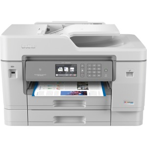 "Brother MFC-J6945DW INKvestment Tank Color Inkjet All-in-One Printer with Wireless, Duplex Printing, NFC, 11"" x 17"" Scan Glass and Up to 1-Year of Ink In-box"