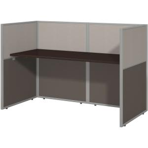 Bush Business Furniture Easy Office 60W Straight Desk Closed Office