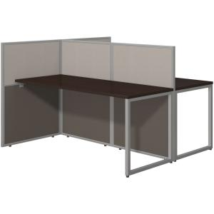 Bush Business Furniture 60W 2 Person Straight Desk Open Office