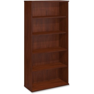 Bush Business Furniture Series C 36W 5 Shelf Bookcase