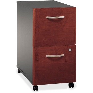 Bush Business Furniture Series C 2 Drawer Mobile Pedestal - Assembled