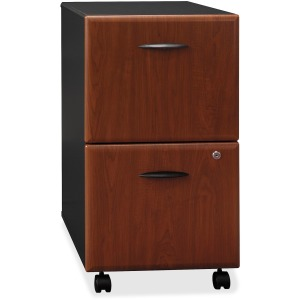 Bush Business Furniture Series A 2 Drawer Mobile Pedestal - Assembled