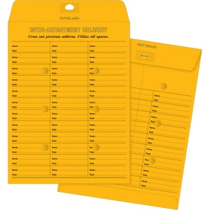 Business Source 28lb Kraft Interdepartmental Envelopes