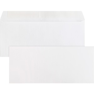 Business Source Plain Peel/Seal Business Envelopes