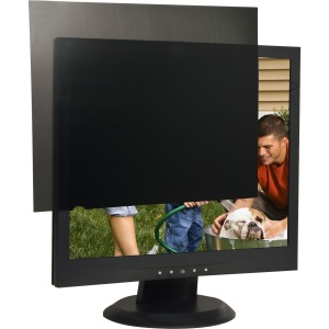 "Business Source 17"" Monitor Blackout Privacy Filter Black"