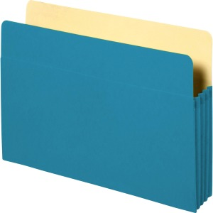 Business Source Colored Expanding File Pockets