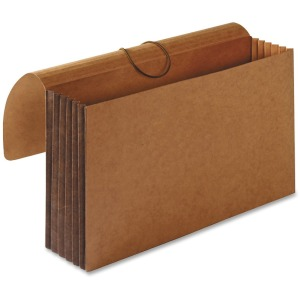 "Business Source 5-1/4"" Expanding Extra-wide Wallets"