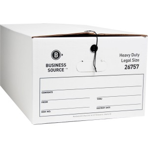 Business Source String/Button Medium Duty Storage Box