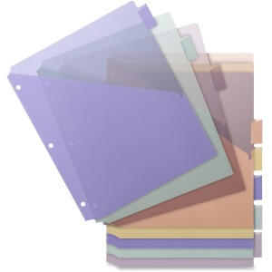 Business Source Pocket Index Dividers