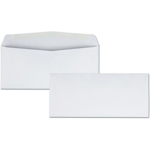 Business Source No. 10 White Business Envelopes