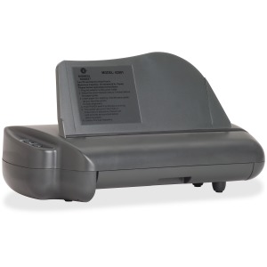 Business Source Electric Adjustable 3-hole Punch