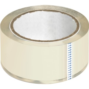 Business Source Crystal Clear Packaging Tape