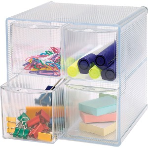 Business Source 4-drawer Storage Organizer