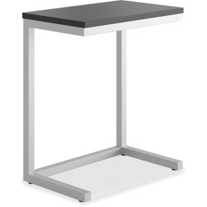 HON Cantilever Table, Black Finish