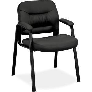 HON Charge Guest Chair, Fixed Arms