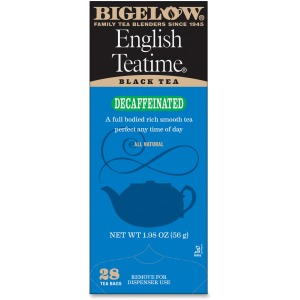 Bigelow English Teatime Decaffeinated Black Tea