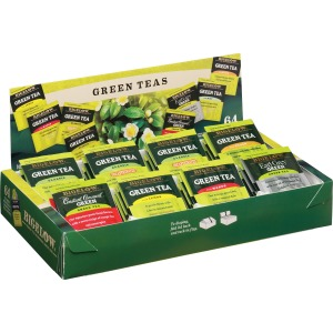 Bigelow Assorted Green Tea Tray Pack