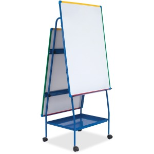 Bi-office Dry-erase AdjustableDoublee-sided Easel