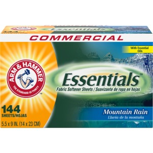 Arm & Hammer Essentials Fabric Softener Sheets