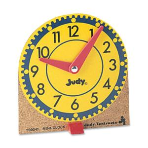 Carson-Dellosa Mini Judy Clocks