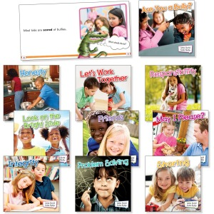 Rourke Educational Grades K-2 Little World Social Skills Set Education Printed Book