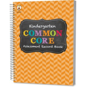 Carson-Dellosa CC Kindergarten Assessment Record Book
