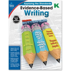 Carson-Dellosa Grade K Evidence-Based Writing Workbook Education Printed Book for Art