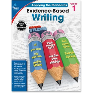 Carson-Dellosa Grade 1 Evidence-Based Writing Workbook Education Printed Book for Art