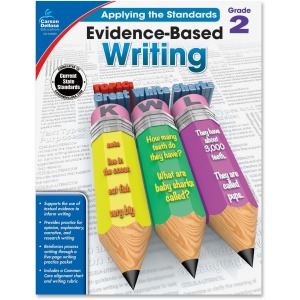 Carson-Dellosa Grade 2 Evidence-Based Writing Workbook Education Printed Book for Art