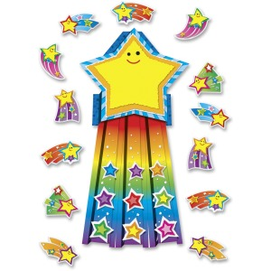 Carson Dellosa Education Shooting Stars Bulletin Board Set