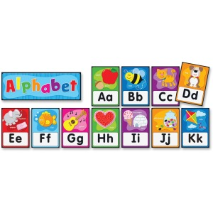 Carson Dellosa Education PreK-Grade 2 Alphabet Bulletin Board Set
