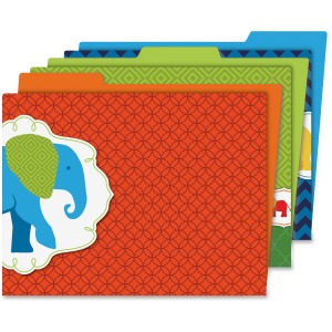 Carson-Dellosa Parade of Elephants File Folders Set