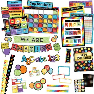 Carson-Dellosa Celebrate Learning Variety Decor Set