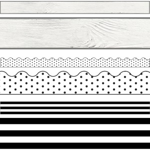 Carson-Dellosa Industrial Chic Border Set