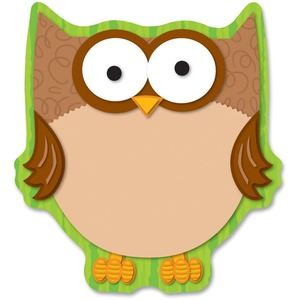 Carson Dellosa Education Full-color Owl Notepads