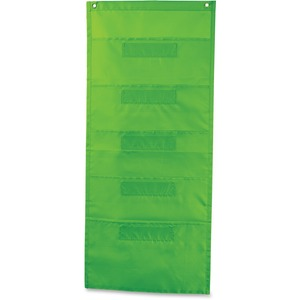 Carson-Dellosa File Folder Storage Lime Pocket Chart