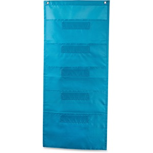 Carson-Dellosa File Folder Storage Teal Pocket Chart