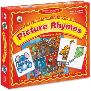 Carson Dellosa Education I Spy a Mouse in the House Matching Game