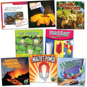 Rourke Educational Grades 1-2 Science Library Book Set Printed Book
