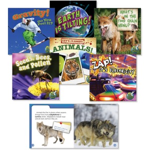 Rourke Educational Grades 2-3 Science Library Book Set Education Printed Book for Science